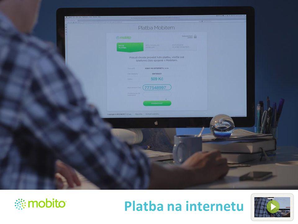 Platba na internetu