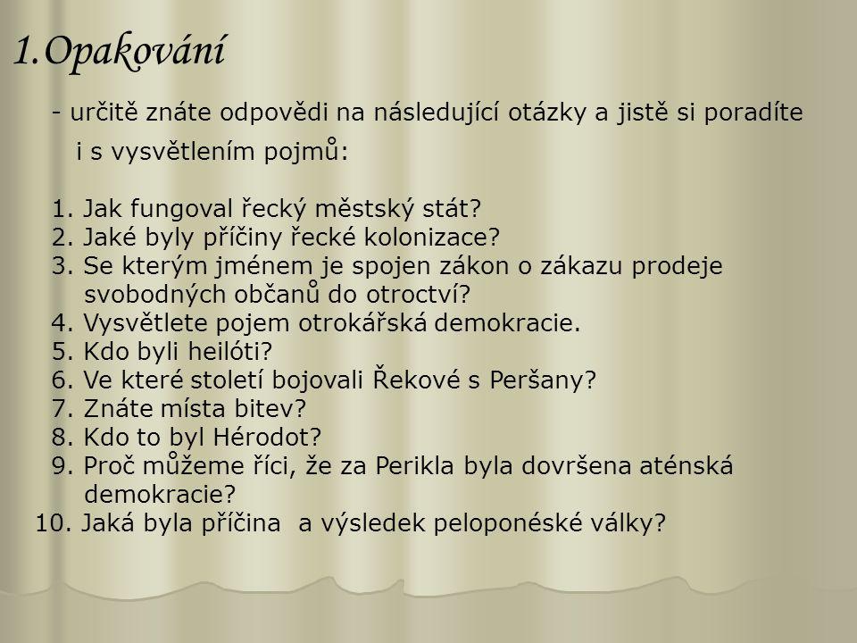 5.Helénistická kultura (4. - 1. stol.