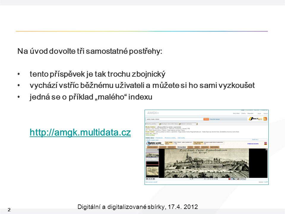 2 Digitální a digitalizované sbírky, 17.4.