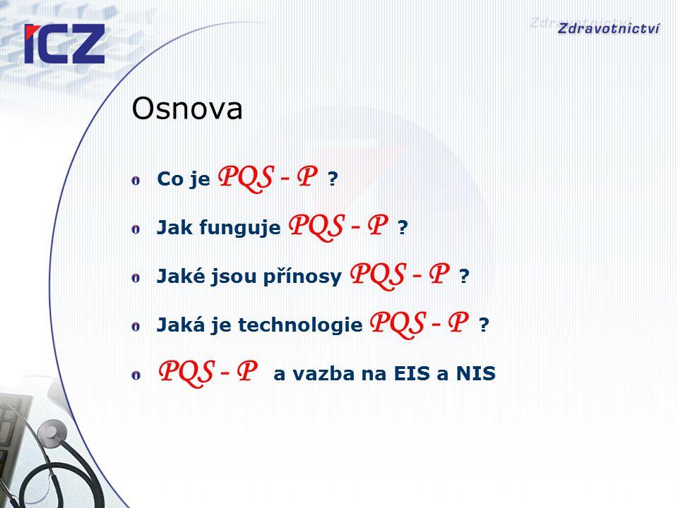 Jaké jsou přínosy PQS –P .