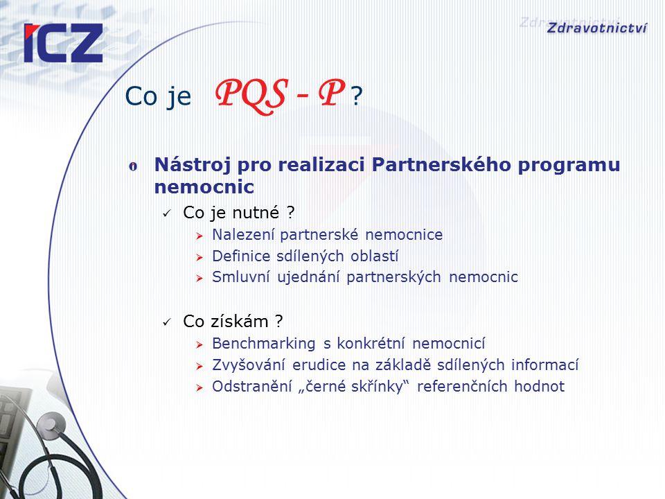 Co je PQS - P . Nástroj pro realizaci Partnerského programu nemocnic Co je nutné .