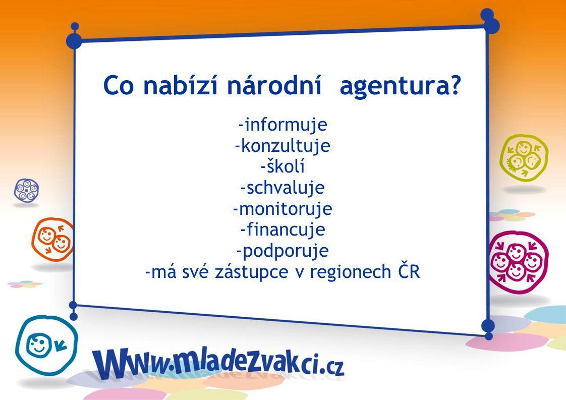 Kontakt: Česká národní agentura Mládež Národní institut dětí a mládeže Na Poříčí 1035/4 110 00 Praha 1 E-mail: info@mladezvakci.cz Web: www.mladezvakci.cz