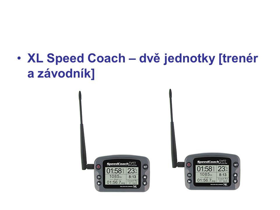 XL Speed Coach – dvě jednotky [trenér a závodník]