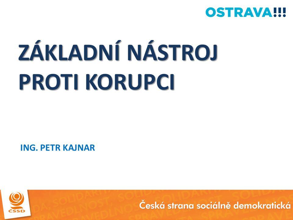 DŮKAZ V PRAXI Systém funguje ve Statutárním městě Ostrava.