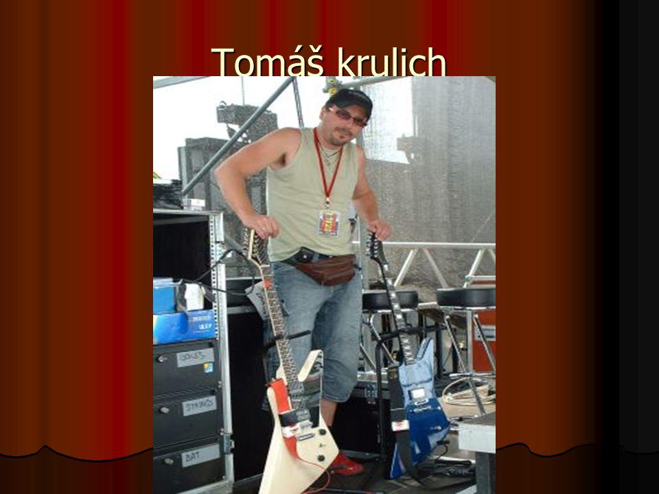 Tomáš Krulich Tomáš se pozná velmi jednoduše.