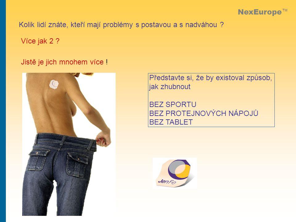 NexEurope TM Kolik lidí znáte, kteří mají problémy s postavou a s nadváhou .