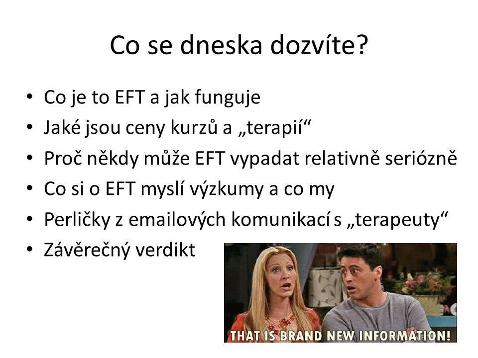 Co je EFT a jak funguje.