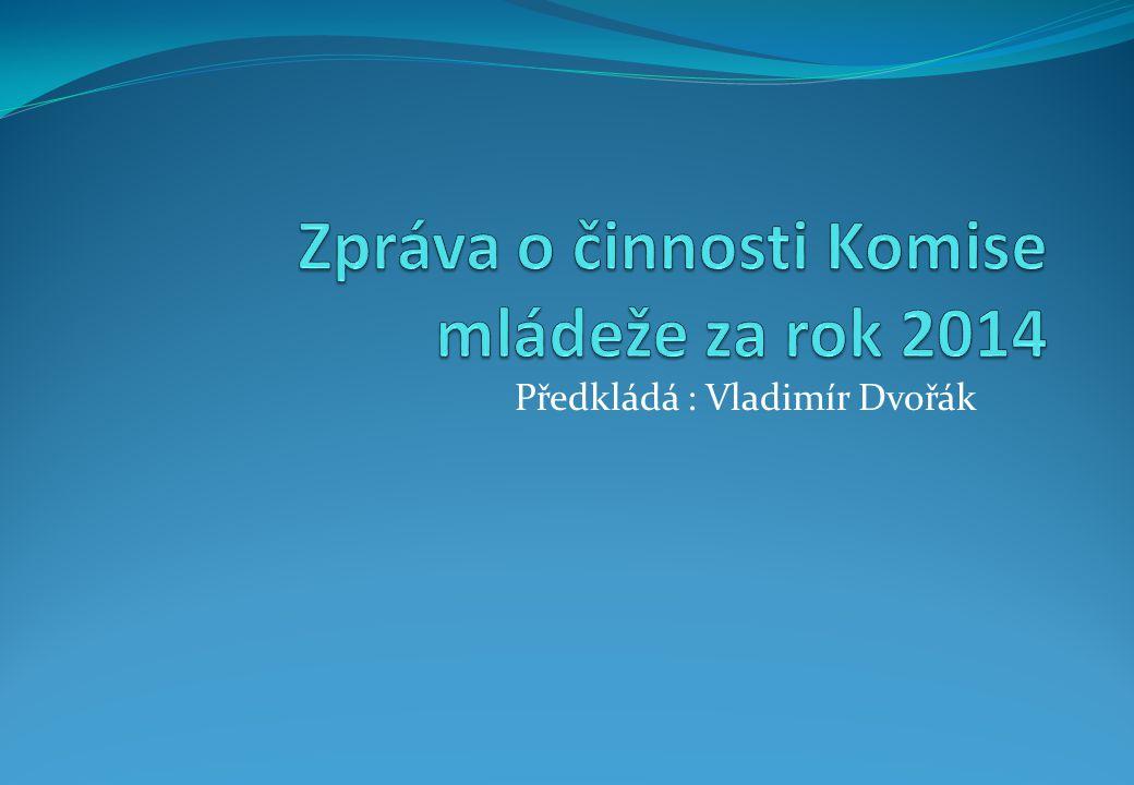 Předkládá : Vladimír Dvořák