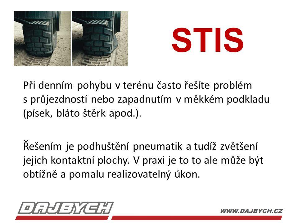 STIS Výhody systému STIS  rychlost  jednoduchá obsluha  není potřeba dalších zařízení  použitelný kdekoliv
