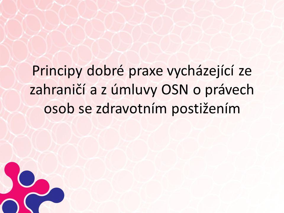 """Úmluva o právech osob se zdravotním postižením Ratifikována ČR v září 2009: """"Státy…zajistí, aby všechny opatření, která se týkají uplatnění právní způsobilosti, poskytovala odpovídající a účinné záruky zamezující zneužití."""
