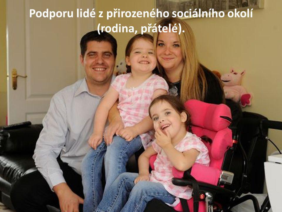 Podpora bez diskriminace na základě postižení.