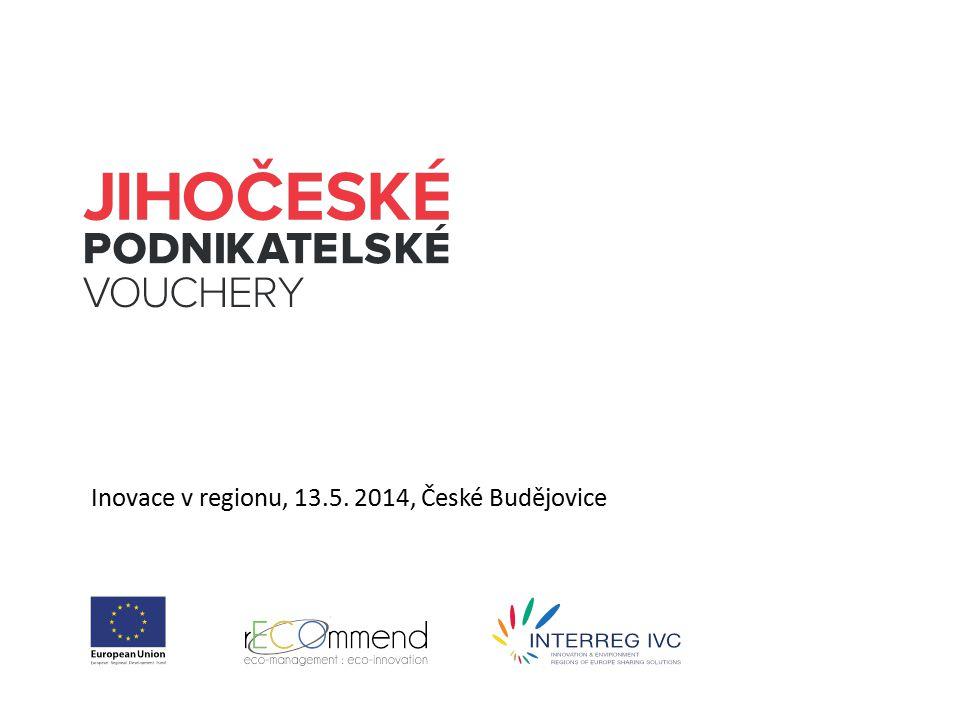 Inovace v regionu, 13.5. 2014, České Budějovice