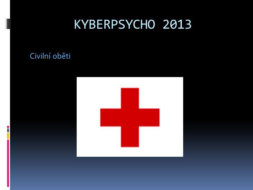 KYBERPSYCHO 2013 Civilní oběti