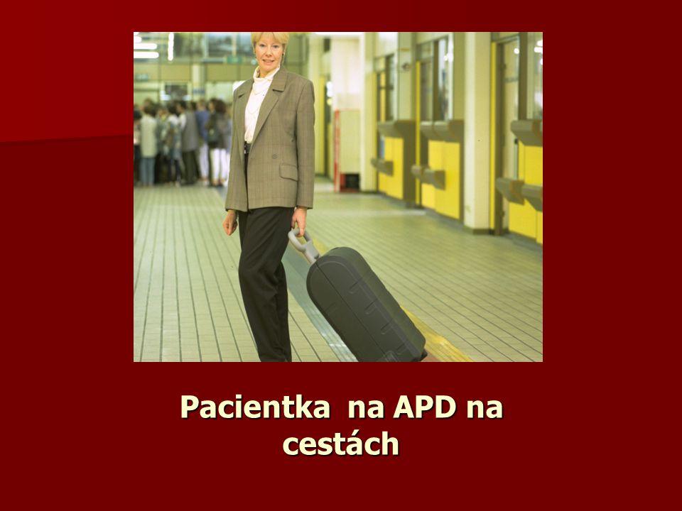 Pacientka na APD na cestách