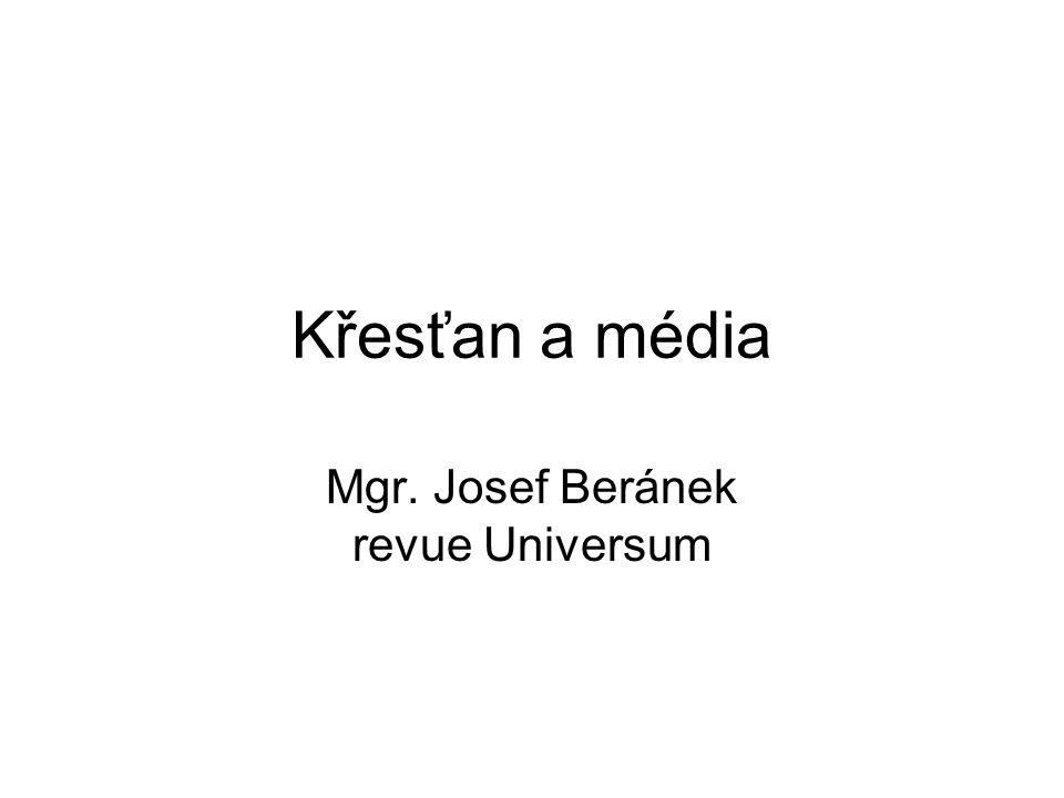 Masové sdělovací prostředky Noviny (přelom 19.-20.