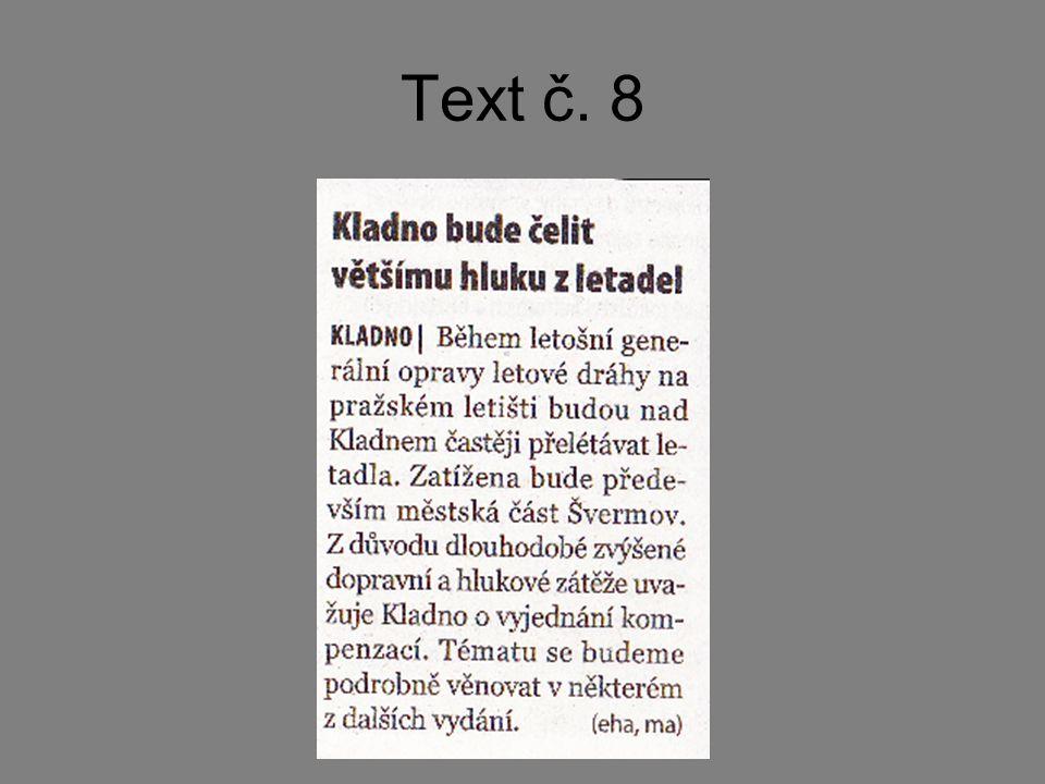 Text č. 8