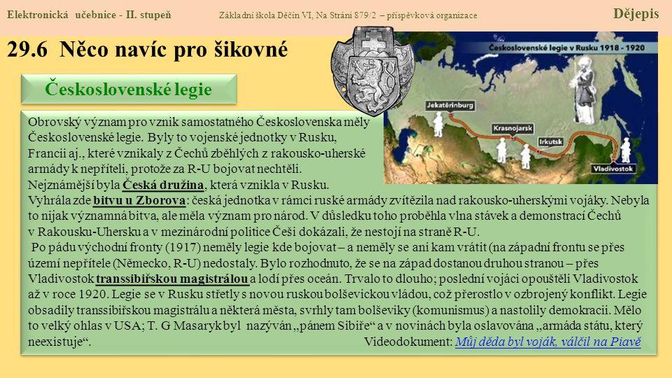 29.7 CLIL – Carpathian Ruthenia Elektronická učebnice - II.