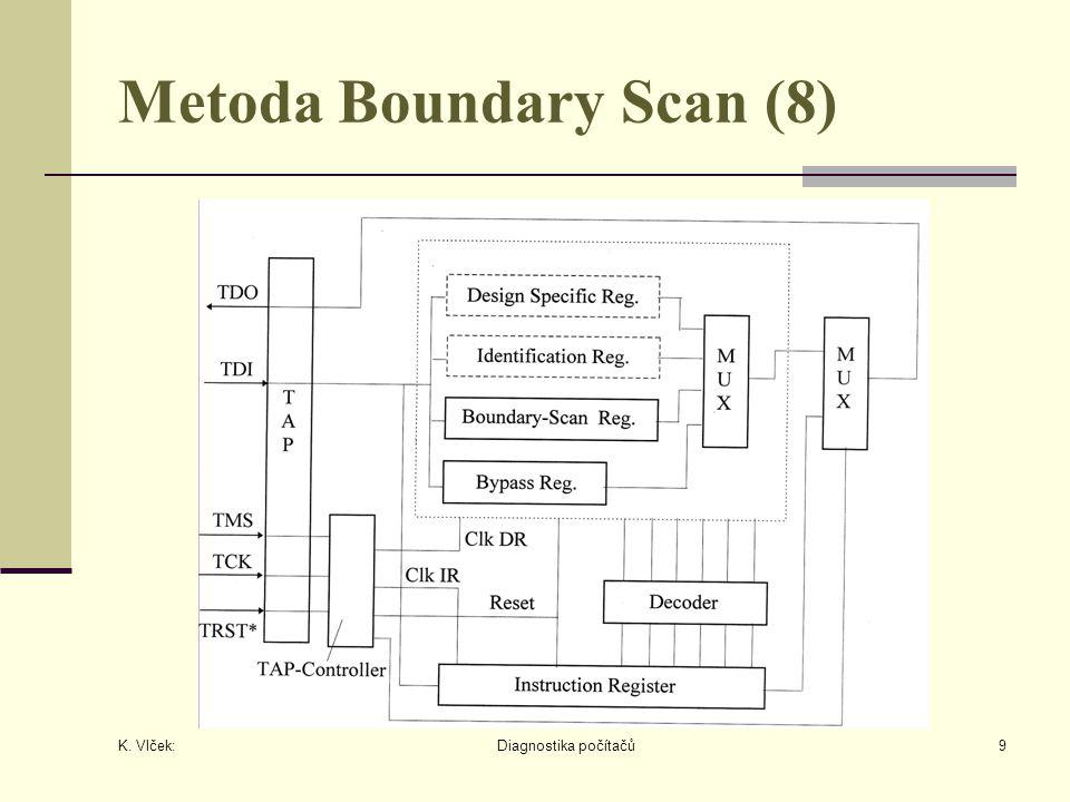 K. Vlček: Diagnostika počítačů9 Metoda Boundary Scan (8)