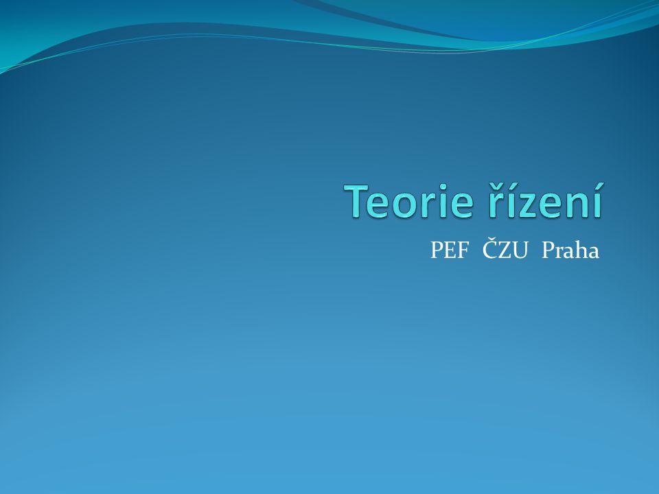 PEF ČZU Praha