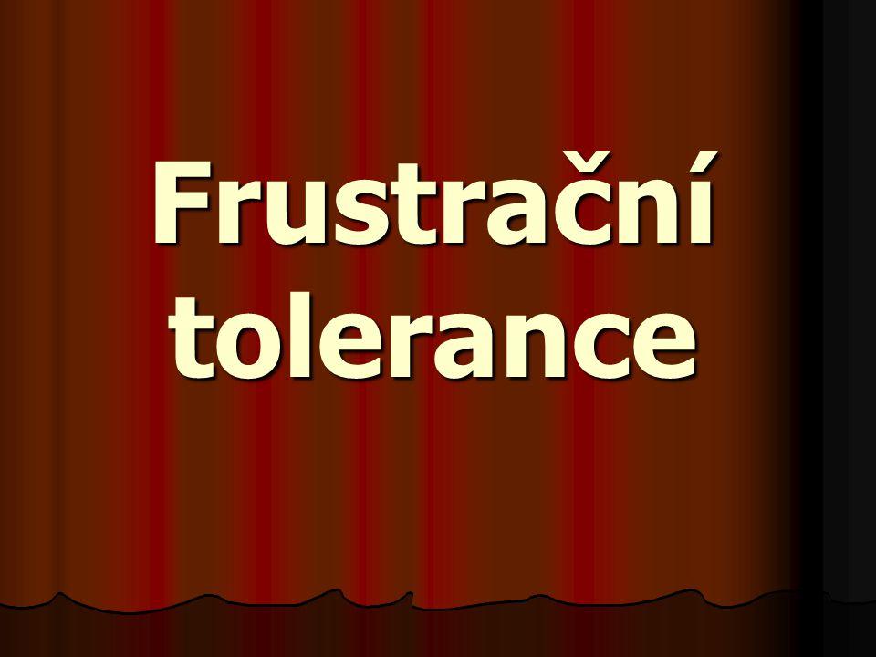 Frustrační tolerance
