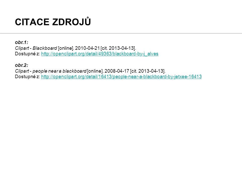 obr.1: Clipart - Blackboard [online]. 2010-04-21 [cit.