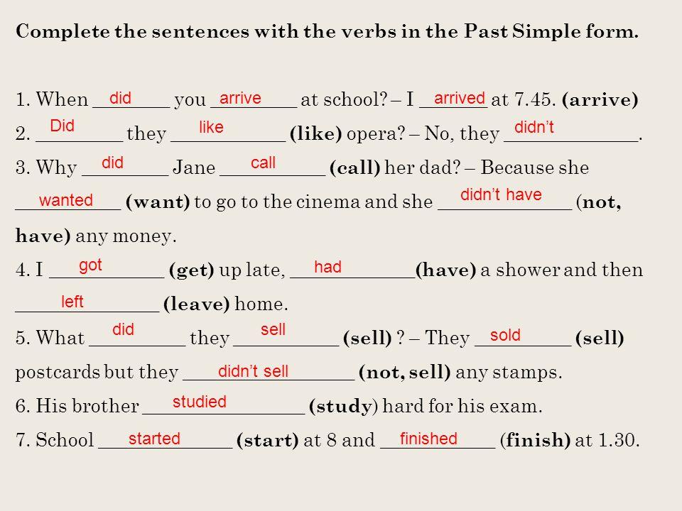 Metodické pokyny k materiálu: 1) tento digitální učební materiál je zaměřen na osvojení si učiva týkajícího se minulého času prostého a následné procvičení tohoto tématu 2) první část je zaměřena na tvorbu minulého času pomocí koncovky –ED a následně na jeho pravopisné změny 3) druhá část se věnuje výslovnosti sloves s koncovkou -ED 4) na dalších stranách se žáci seznámí se způsobem tvoření oznamovacích kladných vět, záporných vět a otázek 5) poslední část materiálu je zaměřena na procvičení osvojeného učiva 6) metodické pokyny jsou uvedeny u cvičení 7) cvičení lze využít v papírové podobě nebo s nimi lze pracovat skupinově na interaktivní tabuli