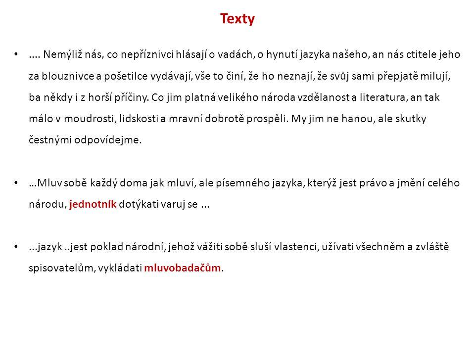 Texty....
