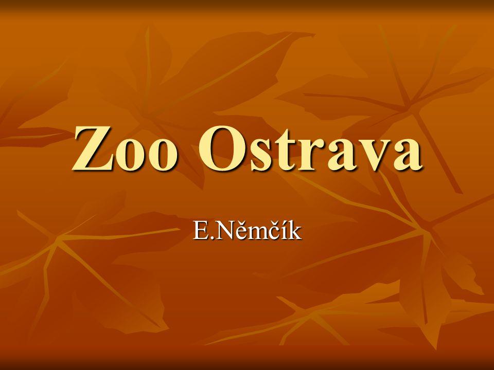Zoo Ostrava E.Němčík
