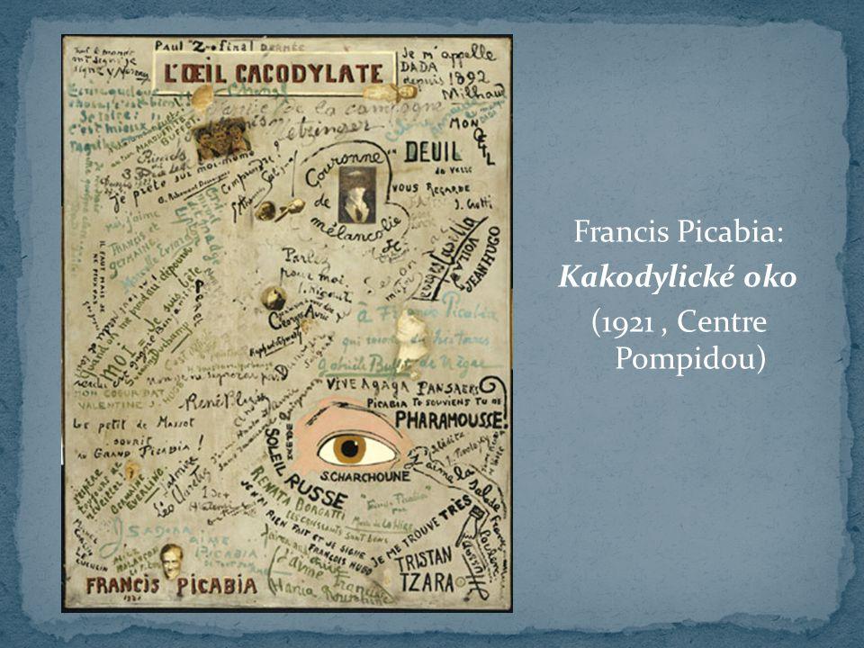 Francis Picabia: Kakodylické oko (1921, Centre Pompidou)