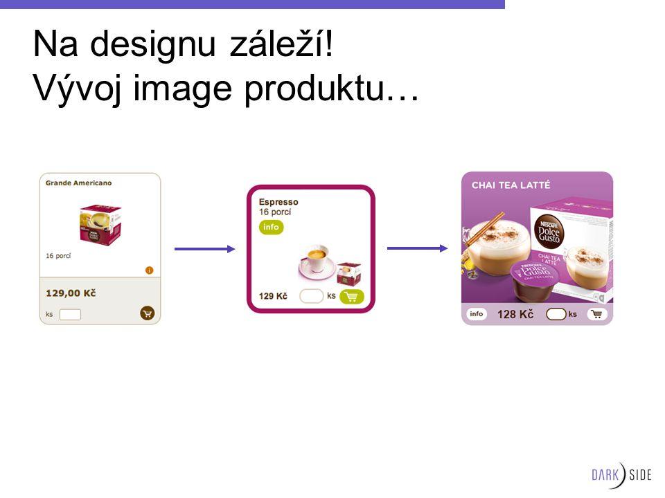 Na designu záleží! Vývoj image produktu…