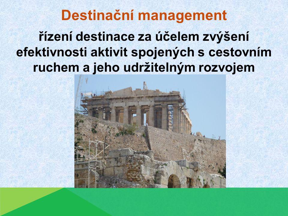 Destinační management spolupráce podnikatelů, veřejnoprávních subjektů a místních obyvatel