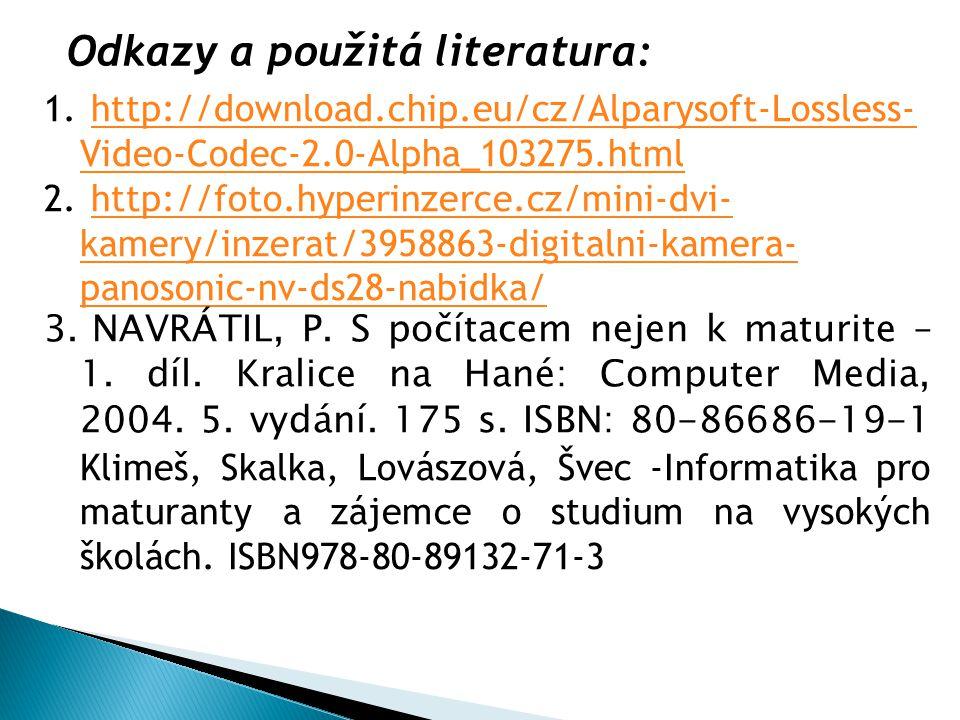 1. http://download.chip.eu/cz/Alparysoft-Lossless- Video-Codec-2.0-Alpha_103275.htmlhttp://download.chip.eu/cz/Alparysoft-Lossless- Video-Codec-2.0-Al