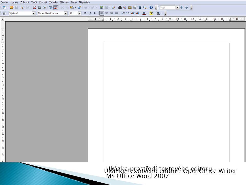 1.ASCII text - čistý text bez jakékoliv podpory formátu.