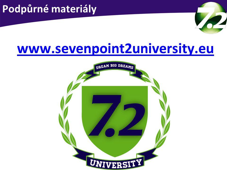 www.alkalickarevoluce.czwww.alkalickarevoluce.cz – složení produktů www.molekularnivodik.czwww.molekularnivodik.cz – vše o vodíku www.sevenpoint2europe.comwww.sevenpoint2europe.com – videa 7.2 www.sevenpoint2university.euwww.sevenpoint2university.eu - obchod Podpora online!!!