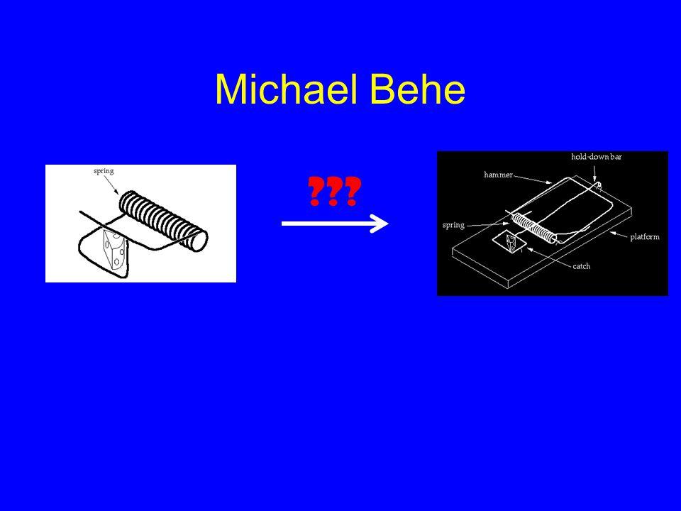 Michael Behe ???