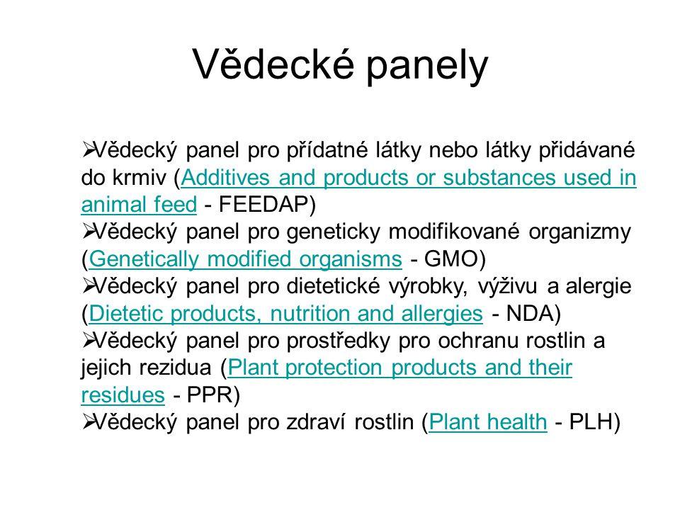 Vědecké panely  Vědecký panel pro přídatné látky nebo látky přidávané do krmiv (Additives and products or substances used in animal feed - FEEDAP)Add
