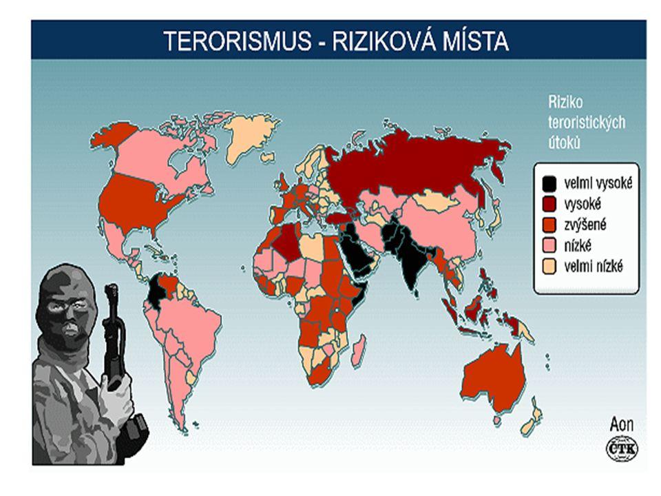 výzkum mezi odborníky na terorismus zjistili, že existuje nejméně 109 definic terorismu.