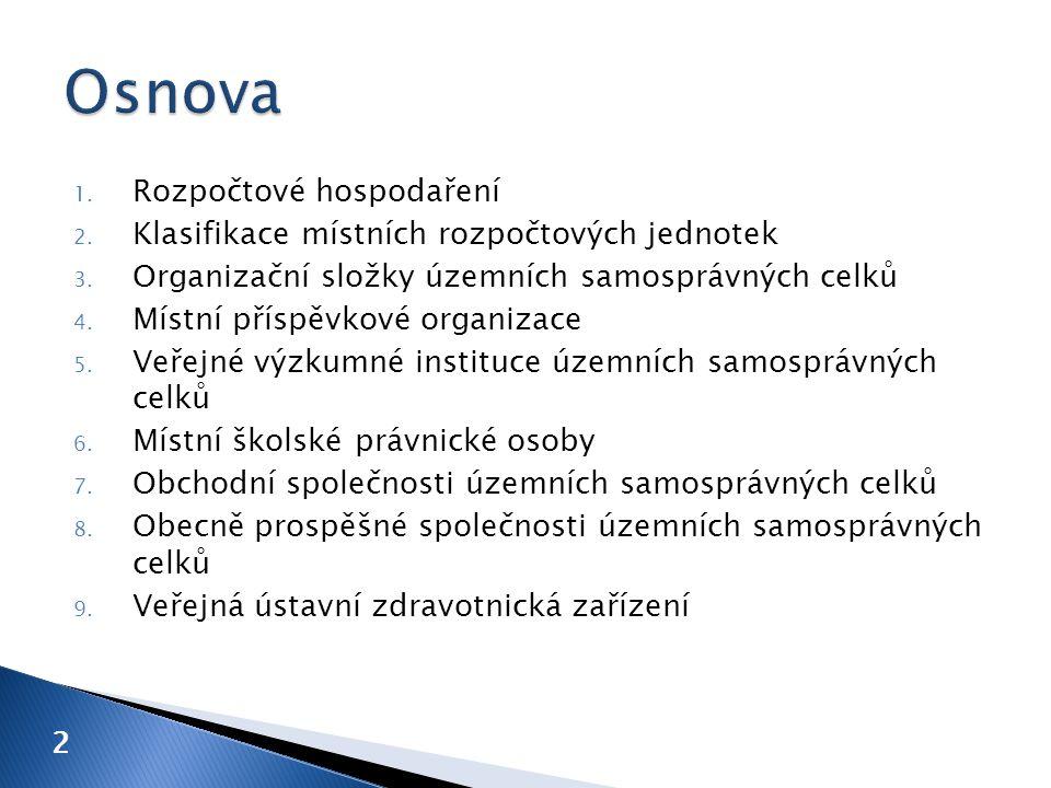 I. rezervní fond II. investiční fond III. fond odměn IV. fond kulturních a sociálních potřeb 13