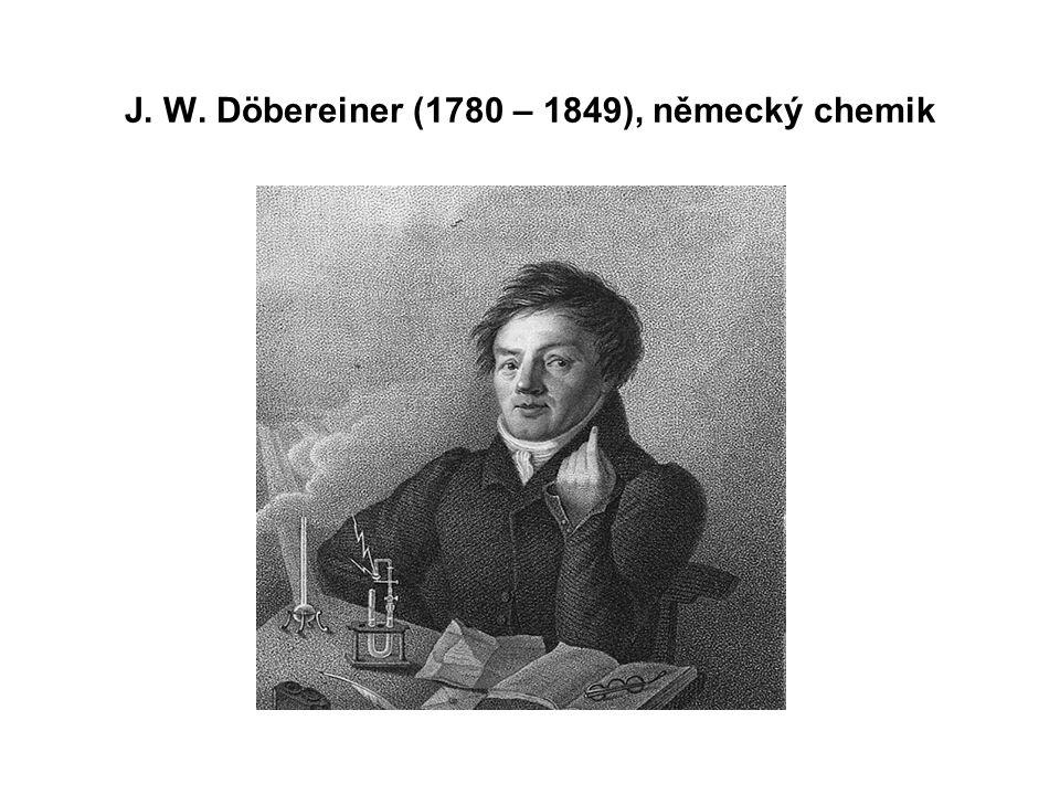 J. A. Newlands (1838 – 1898), anglický chemik