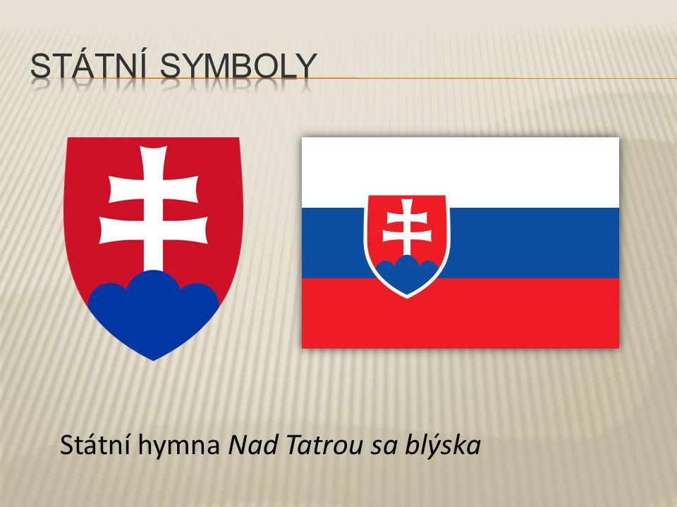 Státní hymna Nad Tatrou sa blýska