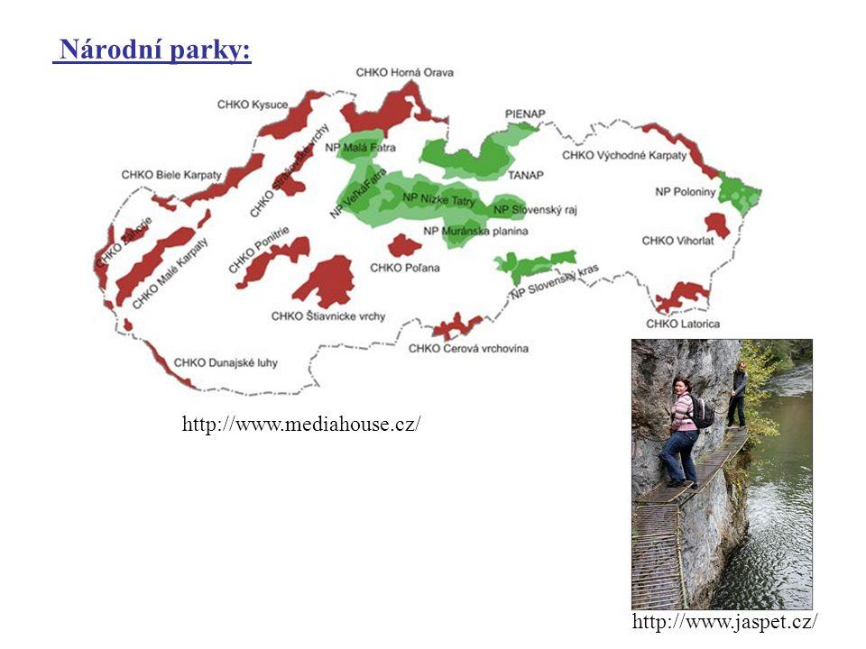 Národní parky: http://www.jaspet.cz/ http://www.mediahouse.cz/