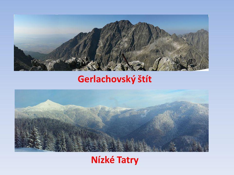 Přiřaď! Gerlachovský štít Nízké Tatry