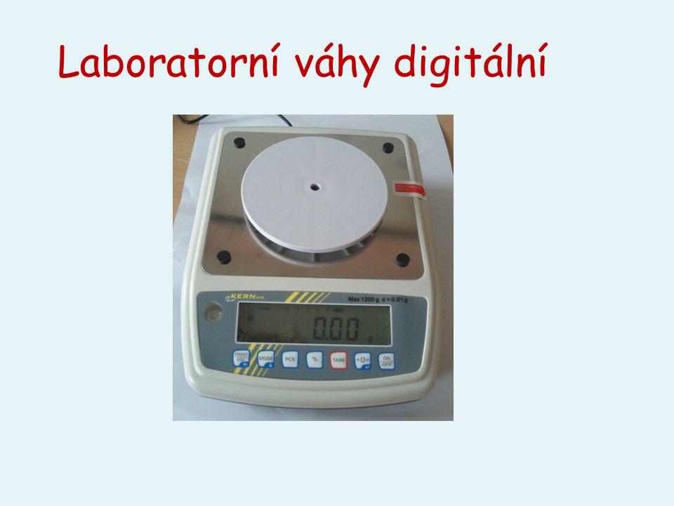 Laboratorní váhy digitální