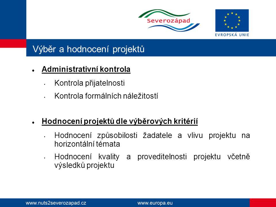 Hodnocení projektů 2.