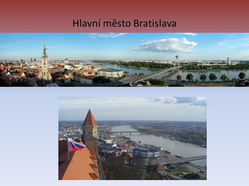 Hlavní město Bratislava