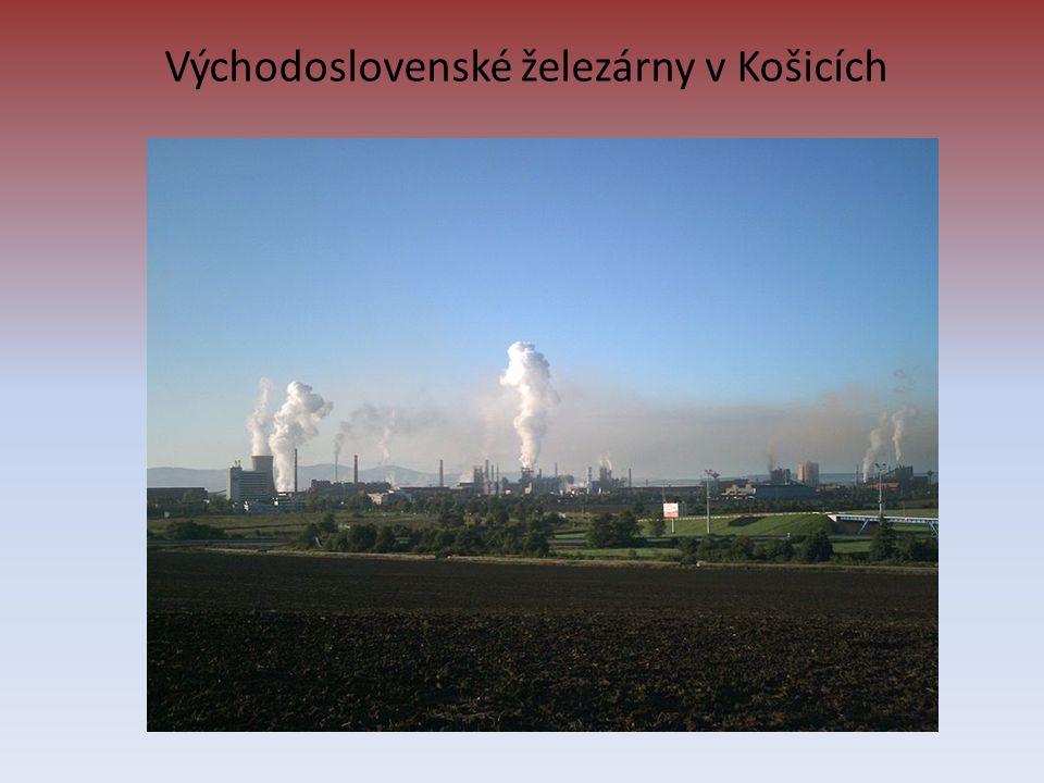 Východoslovenské železárny v Košicích