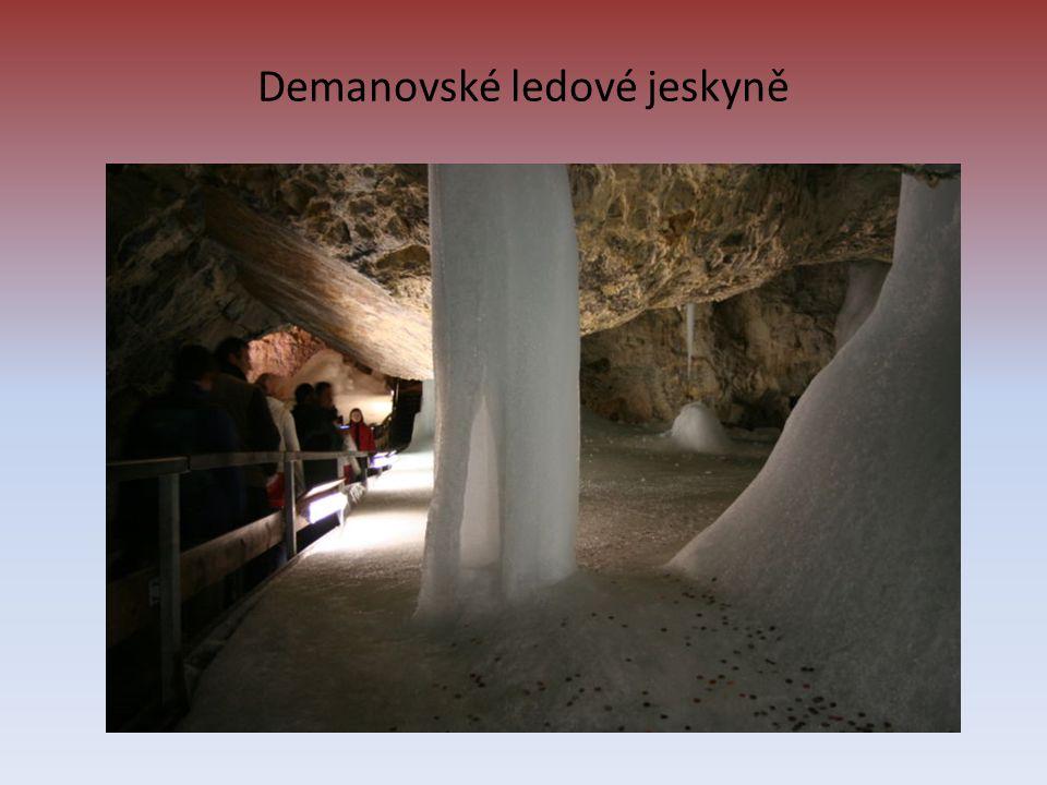 Demanovské ledové jeskyně