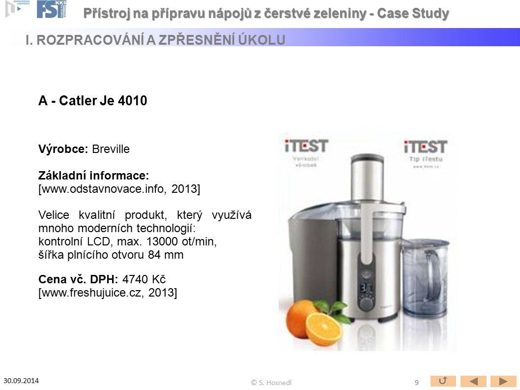 Výrobce: Breville Základní informace: [www.odstavnovace.info, 2013] Velice kvalitní produkt, který využívá mnoho moderních technologií: kontrolní LCD,