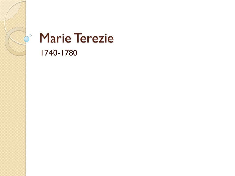 Anotace: Materiál tvoří 11 slidů, v nichž jsou zachyceny nejdůležitější etapy života a vlády Marie Terezie cílová skupina: 8.