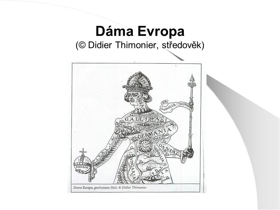 Dáma Evropa (© Didier Thimonier, středověk)